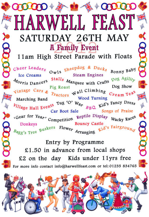 2012 Harwell Feast poster