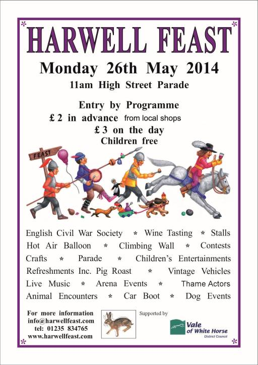 2014 Harwell Feast Poster
