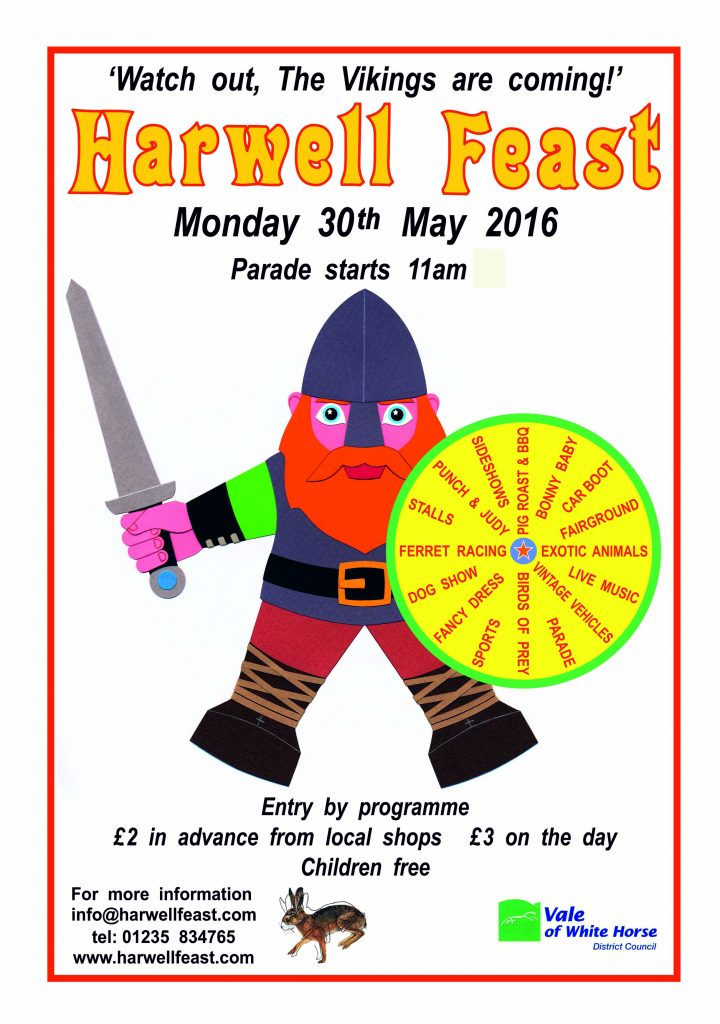 Harwell Feast Poster 30 May 2016